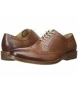 G.H. Bass & Co. Men Wingtip Oxfords Corbin Size US 10M Tan Leather - $34.78