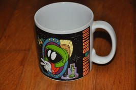 1995 Warner Bros.Marvin The Martian Looney Tunes Coffee Mug Cup applause VTG - $22.49