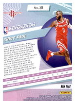 Chris Paul 2018-19 Panini Revolution Chinese New Year Parallel Card #38 image 2
