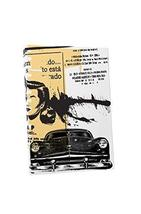"""Pingo World 1218PXVLLMM """"Pop 'Abstract Car with Spanish Text'"""" Gallery Wrapped C - $47.47"""