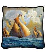 The Searam Throw Pillow - artist Charles Wysocki - $39.95