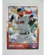 Corey Kluber Cleveland Indians 2015 Topps Baseball Card 83 - $0.98