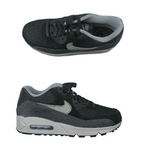 Nike Air Max 90 SE Running Shoes Womens Size 8.5 Black Grey 881105 002 New - $107.90