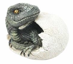 Dinosaur Jurassic World Hatchling Egg Statue Shell Predator Delta  Raptor - €9,70 EUR