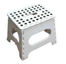 "Jeronic SS051WR 11"" Folding Stool for Adults & Kids, Kitchen Stools, Gar... - $15.61"