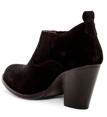 Frye Ilana Slip-On Bootie Size 8 Black NIB  $278