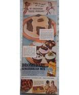 Dromedary Gingerbread Mix WWII Magazine Print Advertisements Art 1940s - $5.99