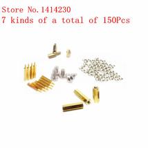 150Pcs copper kit 6 M3*10 6 M3*15 6 M3 nut M3*6 screws 6mm/10mm hollow c... - $15.95