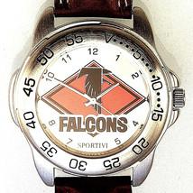 Atlanta Falcons, Sportivi Unworn NFL Man's Vintage 1998 Heavy Leather Watch! $79 - $78.06