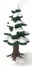 Dept. 56 Heritage Village Accessory:  Village Porcelain Small Pine Tree ... - $15.79