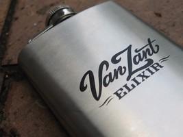Van Zant Elixir Stainless Steel Flask Memorabilia Lynyrd Skynyrd Ronnie ... - $161.99