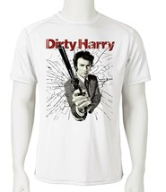 Dirty Harry Dri Fit graphic Tshirt retro 80s movie SPF sun shirt active tee image 2