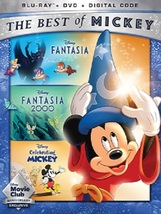 Fantasia, Fantasia 2000, Celebrating Mickey Blu-ray + DVD NO DIGITAL - $33.98