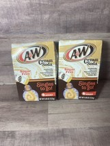 2-A&W Cream Soda Singles 2 Go Drink Mix Sugar Free - Damaged Box -BB-2022 - $24.19