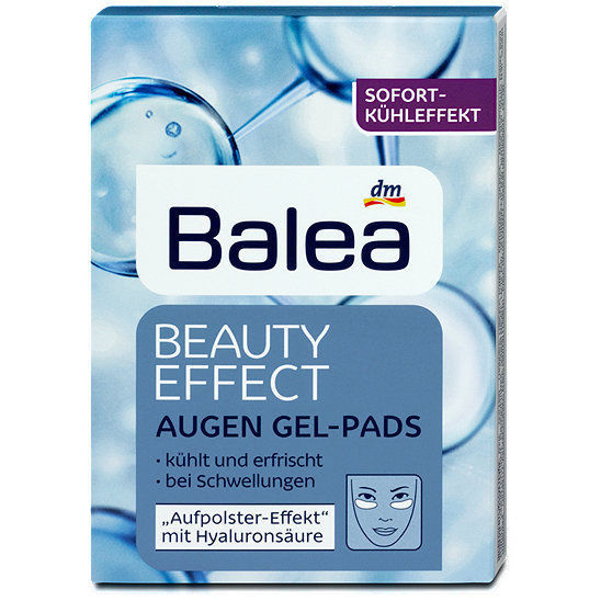 Bales Beauty Effect under-eye gel pads -Immediate cooling effect-Made in Germany - $9.36