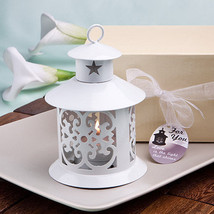 Fabulous White Metal Lanterns Party Decorations Party Lantern Favors Set... - $47.52