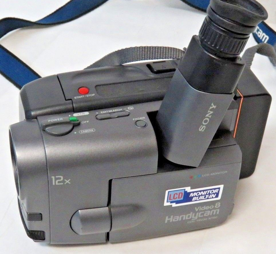 SONY Video 8 Handycam CCD-TRV30, VCL-0637H and 50 similar items