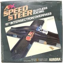 "1979 Aurora Speedsteer Ho Slot Less Car 15"" Intersection Overpass Bridge #6055 - $29.69"