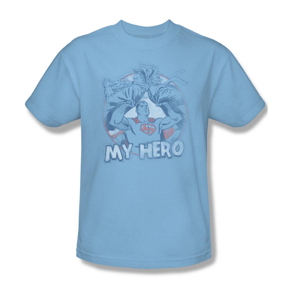 Superman dc comics my hero superhero vintage for sale online graphic tshirt