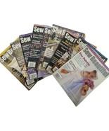 Sew Beautiful Magazine 2001-2004 Lot of 9 Martha Pullen  WithUncut Patt... - $24.74