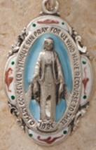 Miraculous Medal: Enameled Sterling Silver image 2