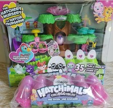 Lot of 2! HATCHIMALS HATCHERY Nursery Playset AND Colleggtables 12 Pack ... - $44.55