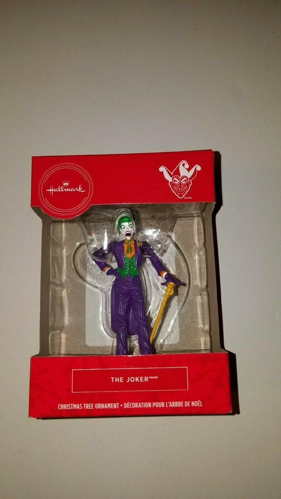 Primary image for Hallmark ornament the joker dc comics stocking stuffer new in box
