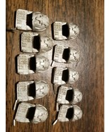 Forge World Space Wolves Grey Hunters Shoulder Pads X 10, never used - $21.78