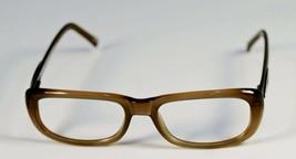 Fossil ELAINE Taupe Plastic Eyeglass Frames Designer Style Rx Eyewear - $9.12