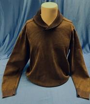 Weatherproof Vintage Men's 100% Cotton Shawl Collar Sweater-Medium/Large  - $19.79