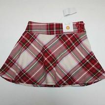 Gymboree Winter Cheer Plaid Skirt Skort size 5 NWT - $14.99