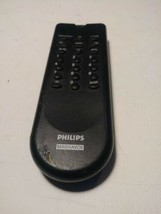 small black Philips Magnavox TV remote control Mossing Cover - $13.99