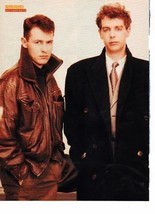 Pet Shop Boys teen magazine pinup clipping Vintage Bravo Tiger Beat  In a Suit