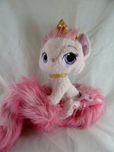 "Disney Palace Pets Beauty Princess Aurora's Pink Cat Plush 34"" long fluf... - $19.79"