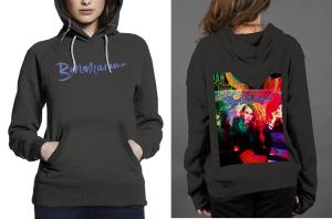 Bananarama z hoodie women black