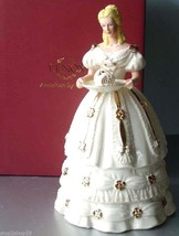 Lenox Christmas Sweet Delight Figurine 2011 Ivory Hand Painted Limited $198 New - $89.90