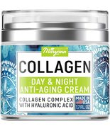 Maryann Organics Collagen Cream - Anti Aging Face Moisturizer - Day & Night - Ma - $33.89