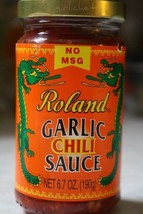 Garlic Chili Sauce by Roland (6.7 ounce) Free Shipping - $14.03