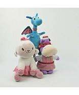 Disney Doc McStuffins Friends Set of 3 Lambie Stuffy Nurse Hallie 8 inch... - $28.01
