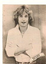 Rex Smith teen magazine pinup clipping black and white crossed arms Teen... - $1.50