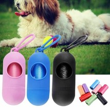 Pet Dog Poop Bag Dispenser Waste Garbage Bags Carrier Holder Dispenser D... - $1.99+