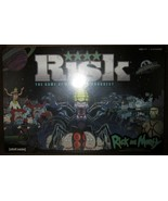 Risk: The Game of Strategic Conquest - Rick & Morty - Adult Swim - CN-NB... - $47.53