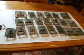 Vintage U.S. Postal Box Door Lot of 21 Comb Lock, two digit Number lock ... - $222.75