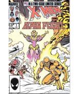 X-Men / Alpha Flight Comic Book #1 Marvel Comics 1985 FINE+ NEW UNREAD - $2.25