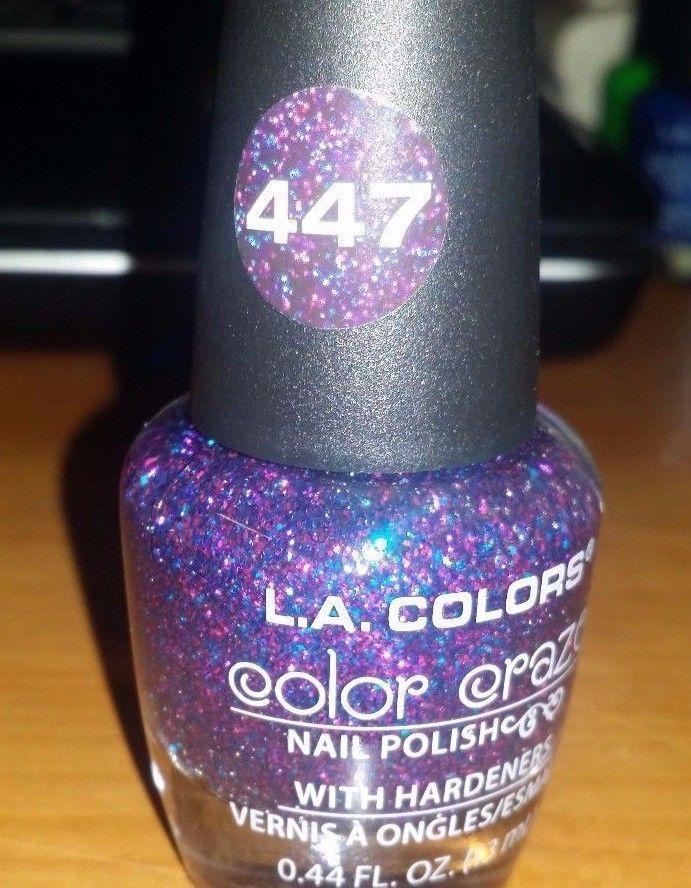 L.A. COLORS - Color Craze Nail Polish CNP447 and similar items