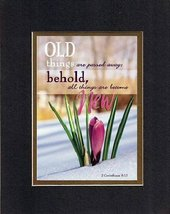Old things are passed away; behold all things become New . . . 8 x 10 Inches Bib - $11.14