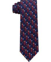 Tommy Hilfiger Men's Slim Firecracker Silk Tie (Red) - $49.97