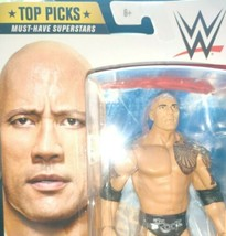WWE Mattel The Rock Basic Top Picks 2020 Series Action Figure - $35.14