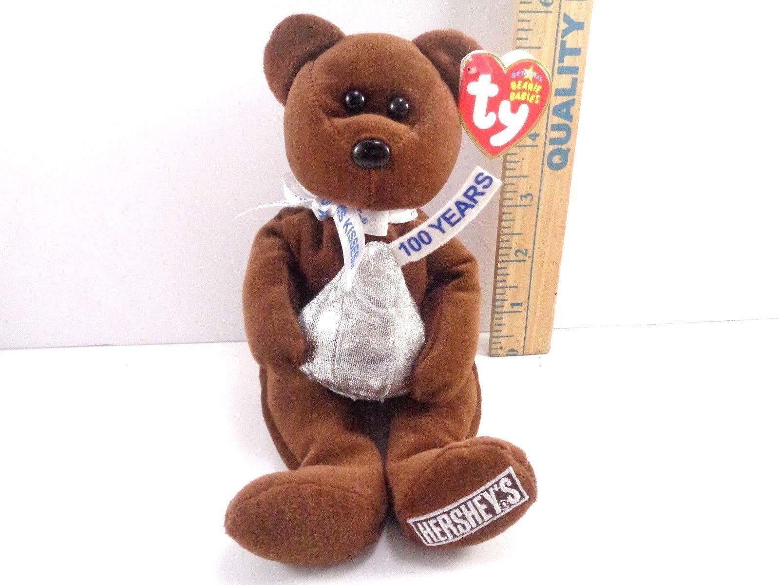 fd5094658cc TY Beanie Baby KISSES Cocoa Hershey Bear and 50 similar items