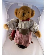 """Tee Off Trudi Golfing Teddy Bear 13"""" with Golf clubs/Bag & shoes. with  ... - $19.79"""